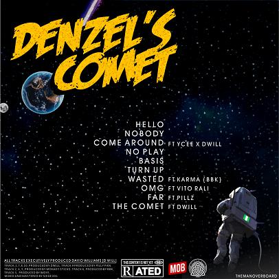 denzels-comet-ep Music: Mob - Denzels Comet EP Music