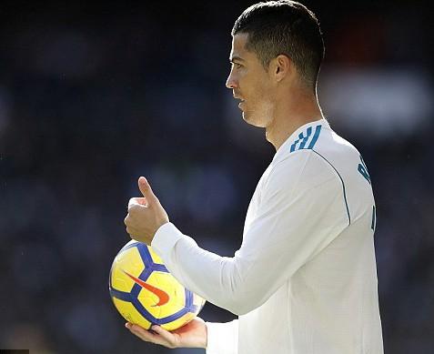 Cristiano Ronaldo Named Best European Sportsperson of 2017 Ahead of Lewis Hamilton And Roger Federer Full List