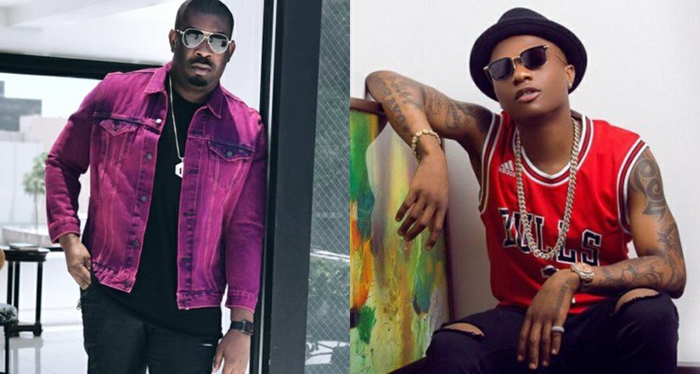 Don Jazzy Explained To Wizkid How The Song 'Booty Call' Was Made