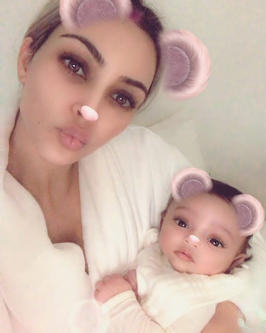 Kim Kardashian Shares First Photo of Her Newborn Baby, Chicago West