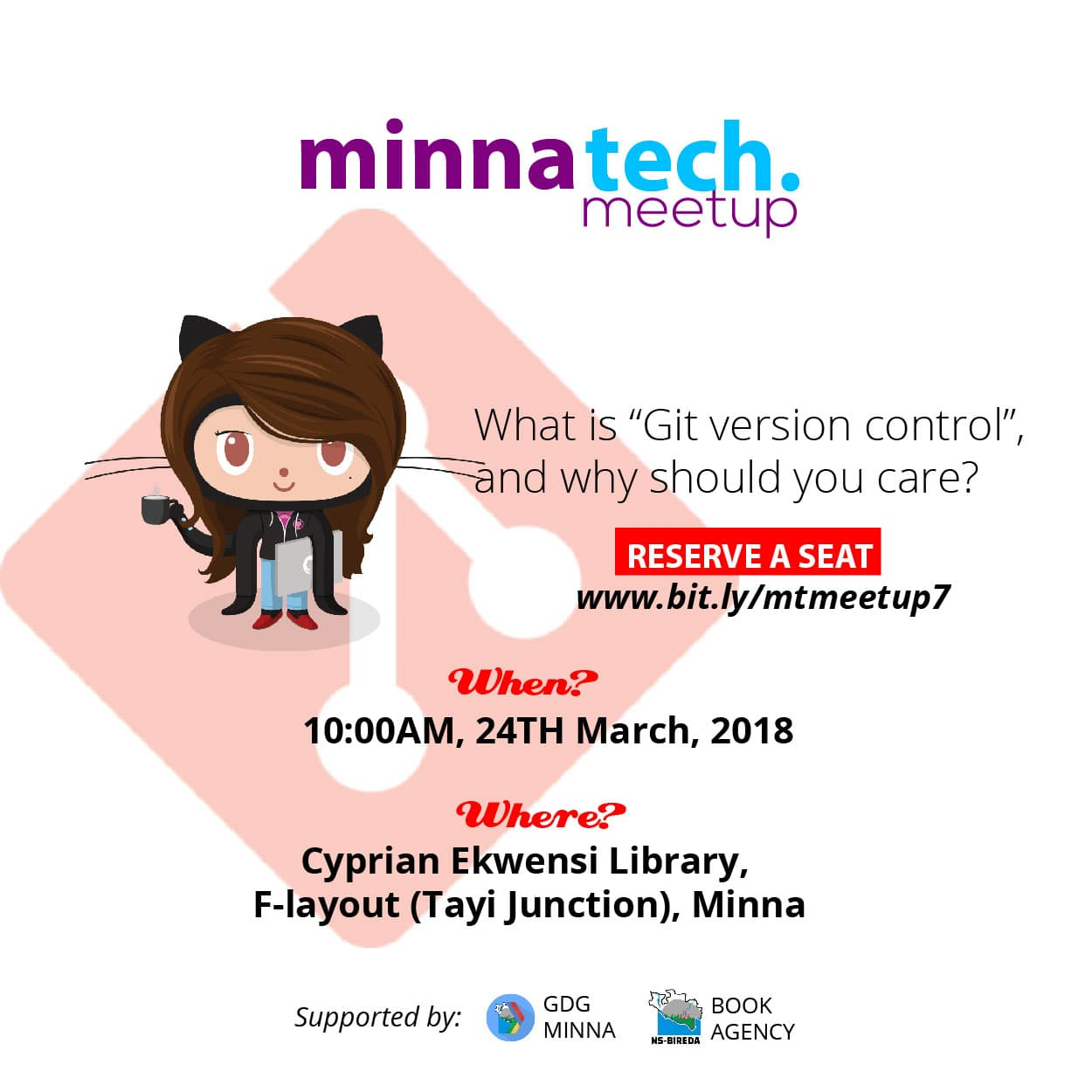 #Advert: March For Git – #MinnaTechnologyMeetup