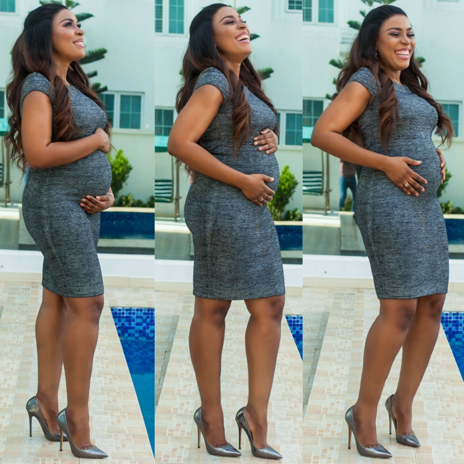 See Full Gist: Linda Ikeji is Pregnant, Share Baby Bump Photos