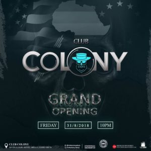 The King Of NightLife, Club Colony Opens In Abuja Soonest