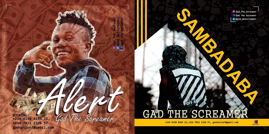 Gad The Screamer – Sambadaba & Alert