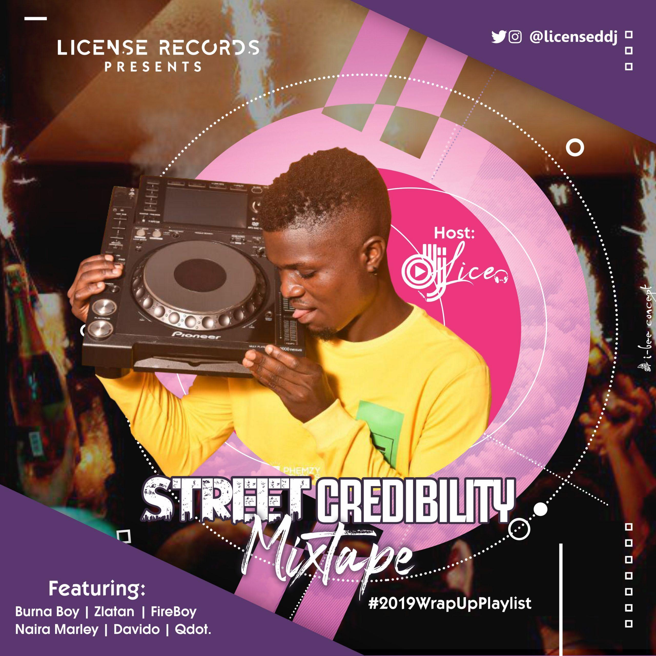 Dj Lice - Street Credibility Mix