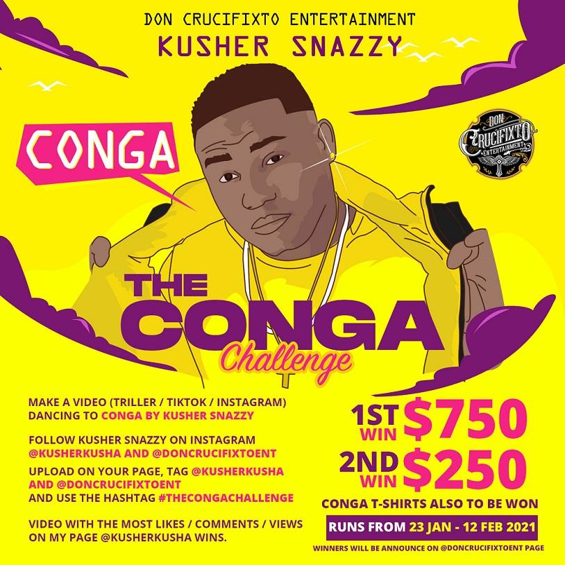 Kusher Snazzy - Conga
