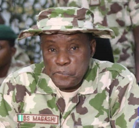 """""""Don't Be Afraid of Bullet, If You Are Not Meant To Die By Bullet, It Will Never Kill You"""" – Defence Minister, Bashir Magashi Tells Troops in The North East"""